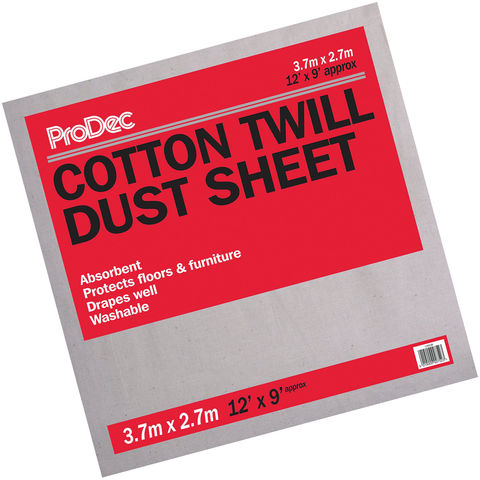 Image of Rodo Rodo 12x9ft Cotton Dust Sheet (Floor)