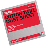Rodo 12x9ft Cotton Dust Sheet (Floor)