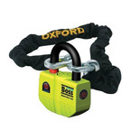 Oxford OF12 Big Boss Ultra Strong Alarm Lock with 2m Chain
