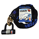 Oxford LK144 Chain10 Chain Lock & Mini Shackle 10mm x 1400mm