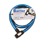 Oxford OX146 'Barrier' Motorcycle Cable Lock (Blue)