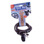 Oxford OF222 Junior Loop Lock Cable With Padlock