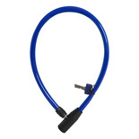 Oxford OF227 Hoop4 Cable Lock 4mm x 600mm Blue