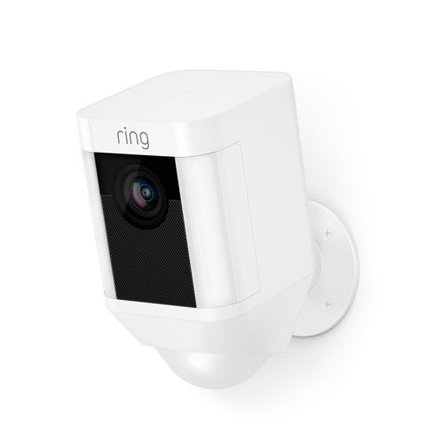 Image of Machine Mart Ring Battery Operated Spotlight Camera White