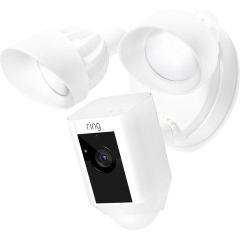 Image of Machine Mart Ring 1080p Floodlight Camera White (230V)