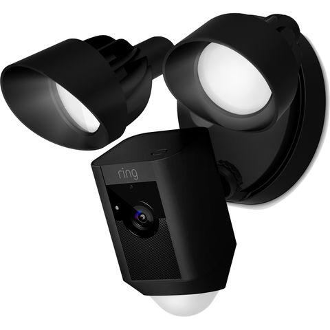 Image of Machine Mart Ring 1080p Floodlight Camera Black (230V)