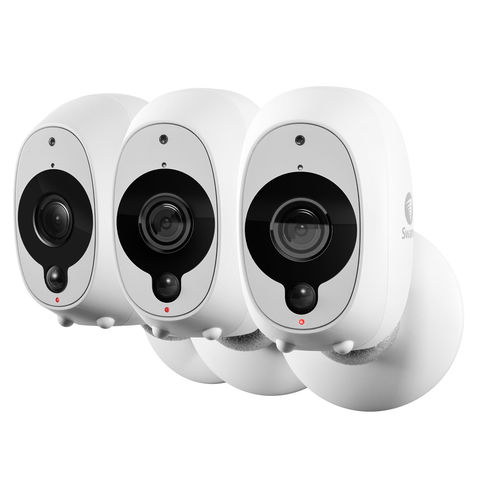 Image of Swann Swann Security SWWHD-INTCAMPK3 1080p Wi Fi Camera Pack of 3
