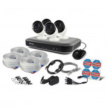 Swann 8 Channel 3mp DVR + 4x 3mp Bullet Cameras