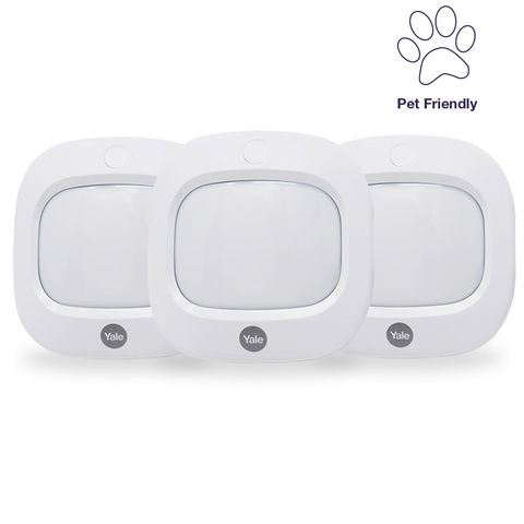 Image of Yale Yale AC-PETPIR PIR Pet Friendly Motion Detector (Pack of 3)