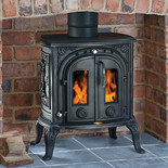 Clarke Junior Victoria II Cast Iron Wood Burning Stove
