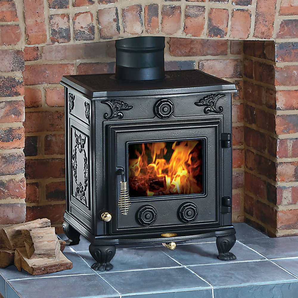 clarke cottager ii cast iron wood burning stove machine mart