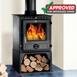 Clarke Eton II Large 10kW Steel Smokeless Zone Approved Wood Burning Stove