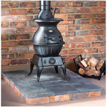 Clarke Potbelly Extra Large - Cast Iron Wood Burning Stove