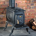 Clarke Boxwood Cast Iron Wood Burning Stove