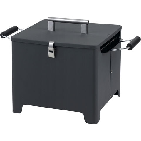 Image of Tepro Tepro Chill and Grill Cube Charcoal Grill (Anthracite)
