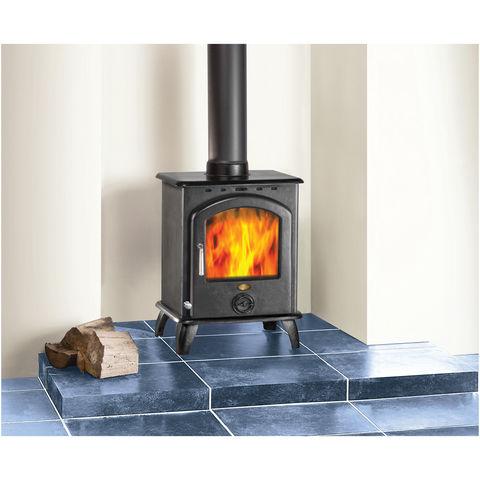 Image of Clarke Clarke Carlton II 6.5kW Cast Iron Wood Burning Stove