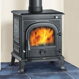 Clarke Pembroke Cast Iron Wood Burning Stove