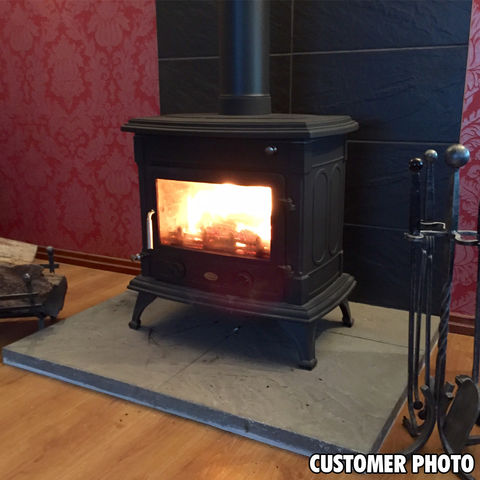Clarke Majestic Cast Iron Wood Burning Stove Machine