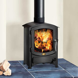 Clarke Malvern 6.2kW Steel Wood Burning Stove