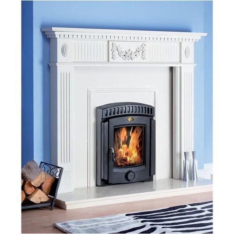 Image of Clarke Clarke Beaulieu 5kW Wood Burning Inset Cast Iron Stove