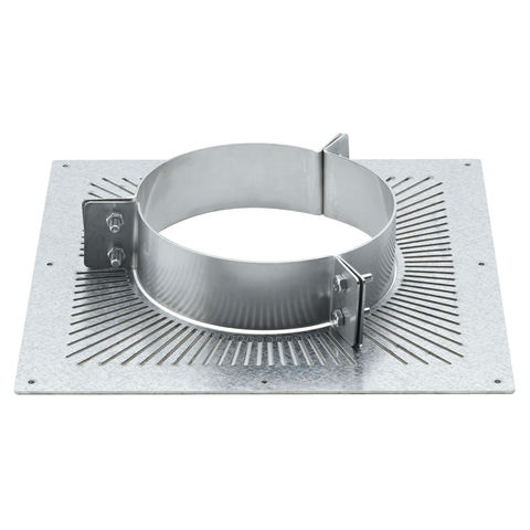 6 Quot Ventilated Combustible Floor Support Plate Machine