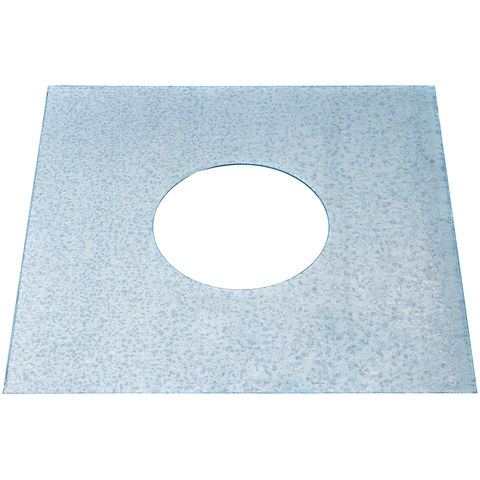 "Image of Machine Mart 6"" Retaining Plate for Flex Liner"