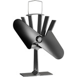Clarke CSF2 2 Blade Heat Powered Stove Fan