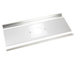 "Colt Cowls 36"" x 12"" Register Plate for 125mm Flue with Brackets"