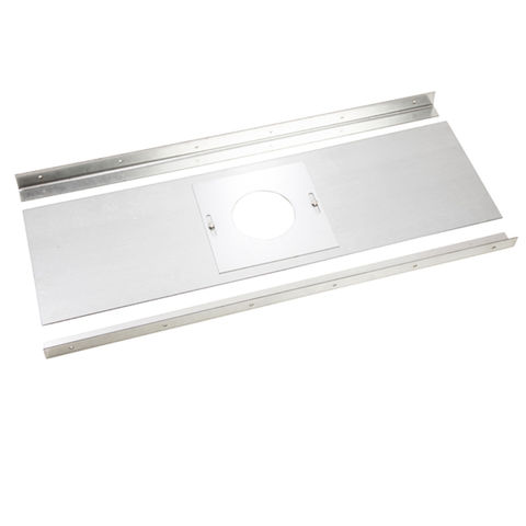 """Image of Machine Mart Colt Cowls 36"""" x 18"""" Register Plate for 150mm Flue with Brackets"""