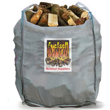 Bulk Hardwood Kiln Dried Fuel Logs - 1 Cubic Metre