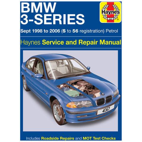 Image of Haynes Haynes BMW 3-Series Petrol (Sept 98 - 06) S to 56 Manual