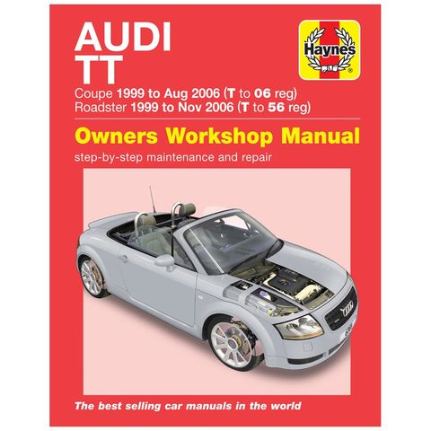 Image of Haynes Haynes Audi TT Mk I (99 - 06) Manual