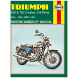 Haynes Triumph 650 & 750 2-Valve Unit Twins  (63 - 83) Manual