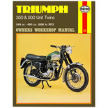 Haynes Triumph 350 & 500 Unit Twins (58 - 73) Manual