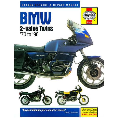 Image of Haynes Haynes BMW 2-valve Twins (70-96) Manual