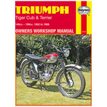 Haynes Triumph Tiger Cub & Terrier (52 - 69) Manual