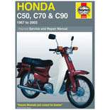 Haynes Honda C50, C70 & C90 (67 - 03) Manual
