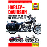 Haynes Harley-Davidson Twin Cam 88, 96  &  103 Models (99 - 10) Manual