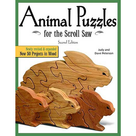 Image of Machine Mart Xtra Animal Puzzles for the Scroll Saw