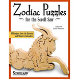 Scroll Saw Woodworking & Crafts Books: Zodiac Puzzles for Scroll Saw Woodworking