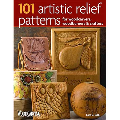 Image of Machine Mart Xtra 101 Artistic Relief Patterns for Woodcarvers, Woodburners & Crafters