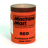Red Aluminium Oxide Paper - 5m Roll, 120 Grit