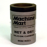 Wet & Dry Silicon Carbide Paper - 5m, 180 Grit
