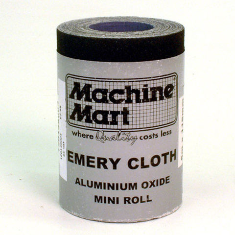 Image of National Abrasives Emery Cloth Roll - 5m, 80 Grit
