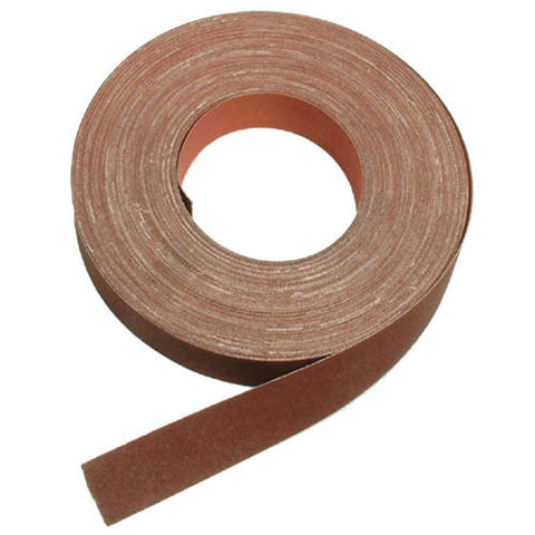 Image of National Abrasives Emery Cloth - 25m Roll, 80 Grit