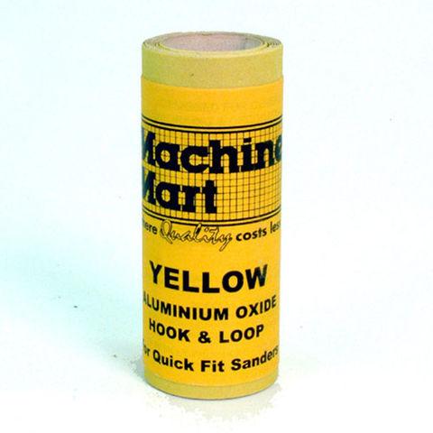 Image of National Abrasives Alu. Oxide Hook & Loop / Quick Fit Sander Roll - 1m, Fine