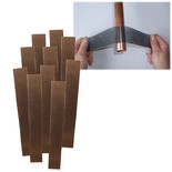 Plumbers Mesh Abrasive Strips Pack of 10
