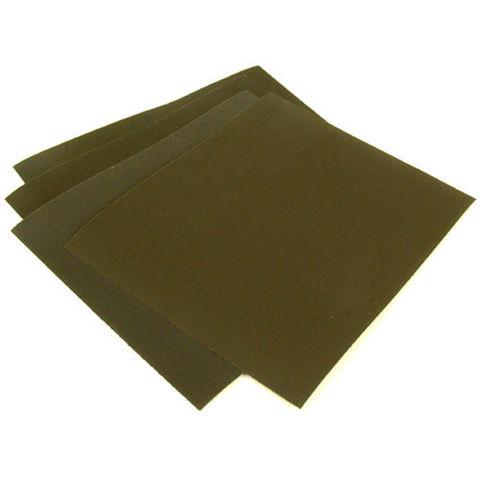 Image of National Abrasives Wet & Dry Hand Sanding Pk 4 - 280x230mm