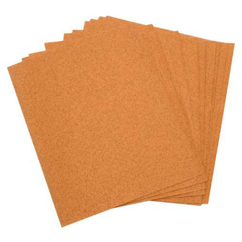 Image of National Abrasives Cabinet Sand Paper Sheets - Pk 10, Assorted