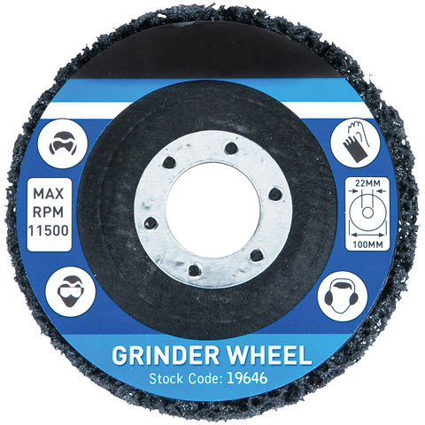 Image of Machine Mart 100mm Rust Remover Grinding Wheel